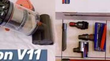 | 吸塵器推薦 | 手持無線吸塵器 Dyson V11 Fluffy 超勸敗開箱文 內有塵蟎吸力測試影片請服用