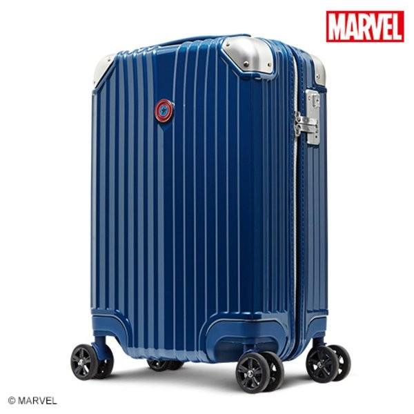DESENO Marvel 奧創紀元系列 新型 拉鍊 旅行箱 行李箱 美國隊長 CL2427電影熱潮 喜歡漫威電影的粉絲千萬別錯過 這款有六個角色的行李箱造型特殊 每款角色的行李箱都有專屬自己的特色T