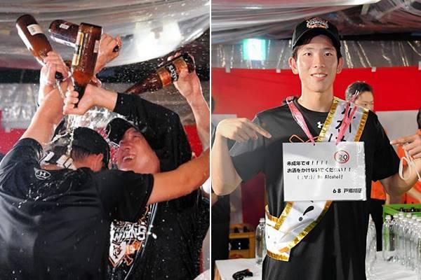 ทำไมญี่ปุ่นต้องราดเบียร์ฉลองแชมป์
