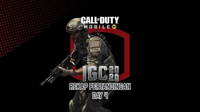 Rekap CODM National Qualifier IGC 2020 Day 4: DG Esports Sengit Lawan Geek Fam!