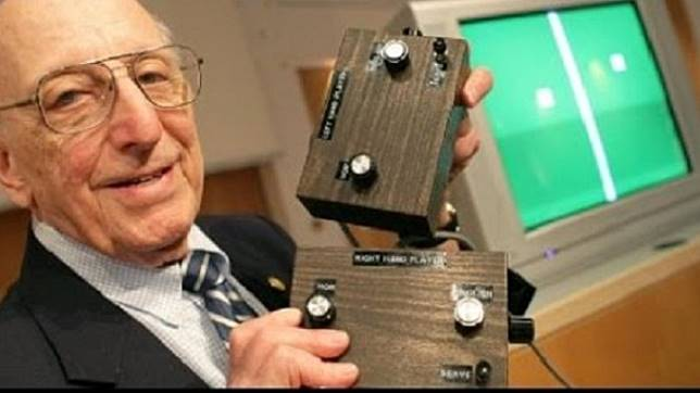 Inilah Orang yang Pertama Kali Menciptakan Console Video Game di Dunia, Mantap Pak!