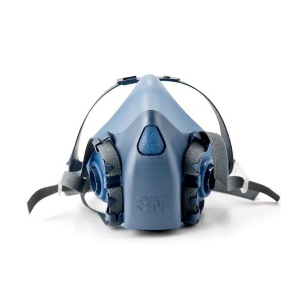 3M 7502 半面體防毒面具 高階矽膠材質 單面罩 不含濾罐【璟元五金】