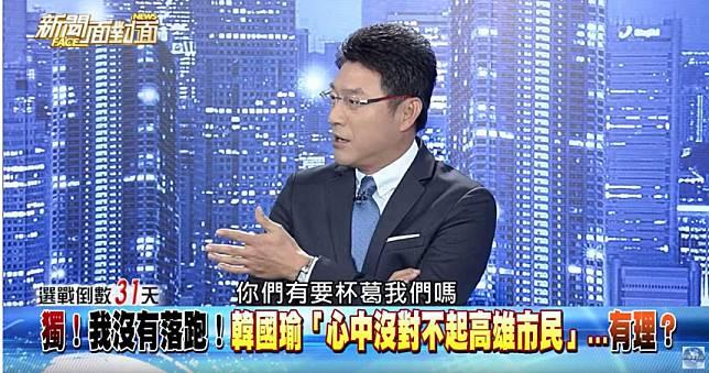 遭蔡正元公開抵制 謝震武問:「有要杯葛嗎?」韓營回應了