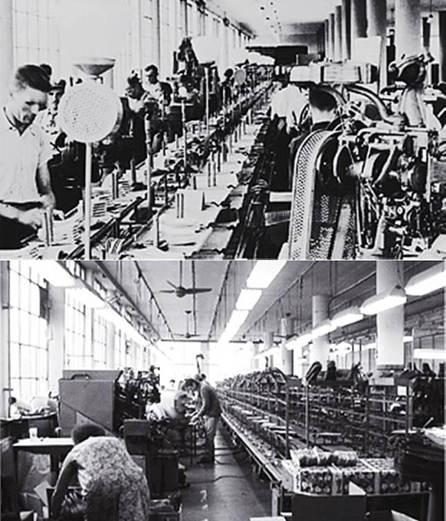 經過幾十年光景,工廠亦是採用當年的器具及機器製鞋。(互聯網)