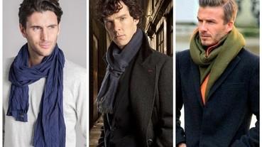 秋冬「圍機」解密! 4 種閉著眼睛也能變型男的圍巾圍法