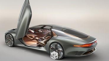 Bentley將 推出全新純電 EXP 100 GT 概念車型!