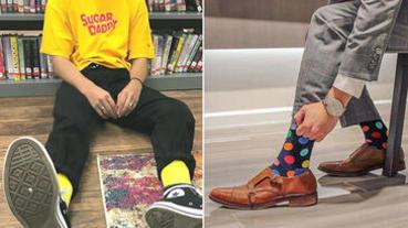 不可忽視的造型單品!型男必知「襪子穿搭」教學,款式、材質、花色三大面向剖析