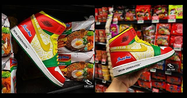 Viral: Who's got a craving for these custom-made Indomie x Air Jordan sneakers?