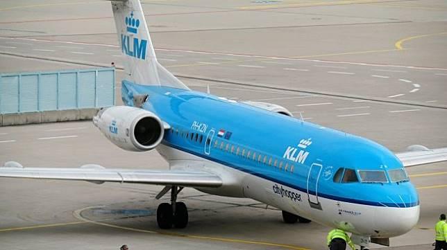 Pesawat KLM (Pixabay/Didgeman)