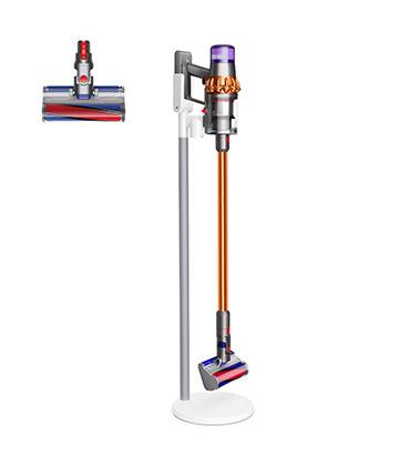 適用於硬質地板,配備軟質碳纖維滾筒吸頭。