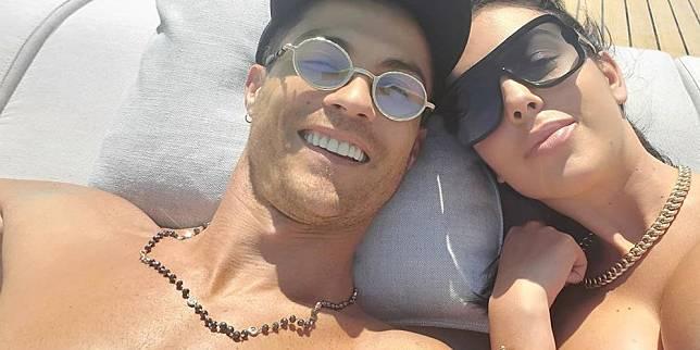 Cristiano Ronaldo dan Georgina Rodriguez (c) Instagram/georginagio