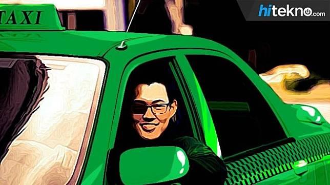 Ilustrasi taksi online. (HiTekno.com)