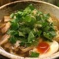 冷たい山椒肉中華 - 実際訪問したユーザーが直接撮影して投稿した西新宿そば肉そば家 笑梟の写真のメニュー情報