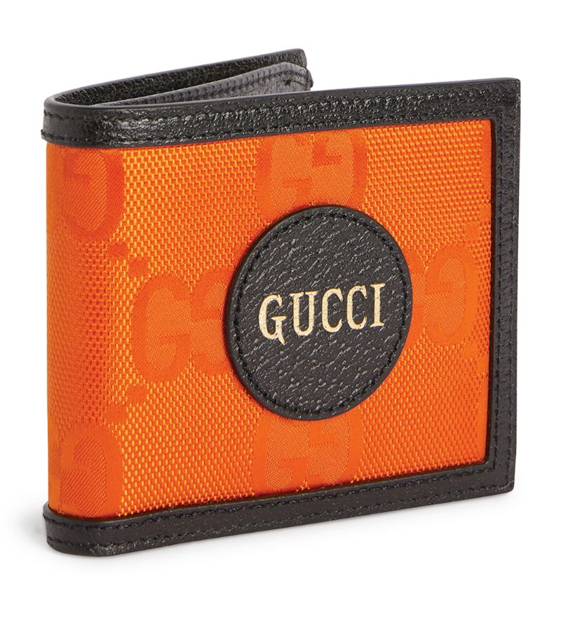 A vibrant addition to the Pre-Fall 2020 collection, Guccis Off The Grid wallet is a sustainable newcomer to the Italian labels line-up of luxury accessories. The iconic GG Supreme pattern is crafted using ECONYL - an eco-friendly nylon - while its leather trims are tanned using metal- and chrome-free processes: theres no better way for the environmentally conscious to carry their monetary essentials.