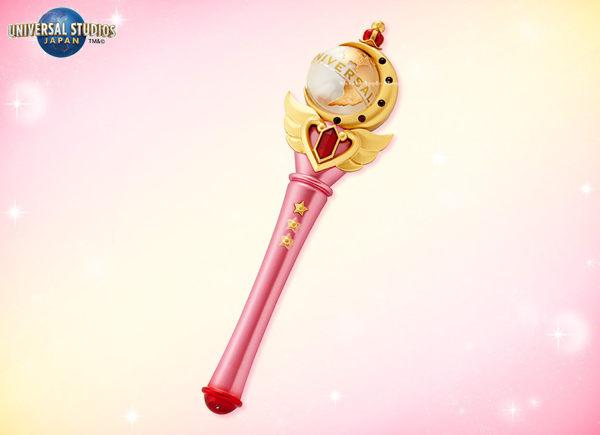 (現貨&樂園實拍) 日本 大阪環球影城限定 美少女戰士 月光仙子 魔法神仗 玩具