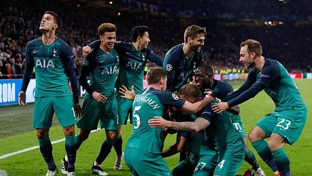 Data dan Fakta Tottenham Hotspur di Liga Champions Musim Ini