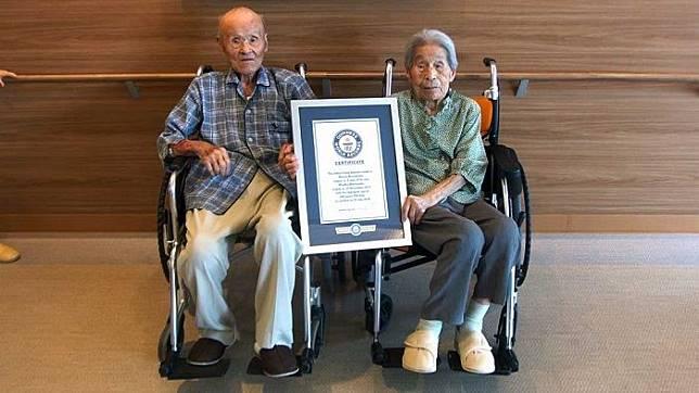 Mendapat predikat pasangan tertua di dunia