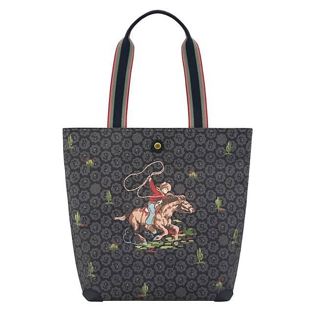 Freston牛仔圖案購物袋(互聯網)