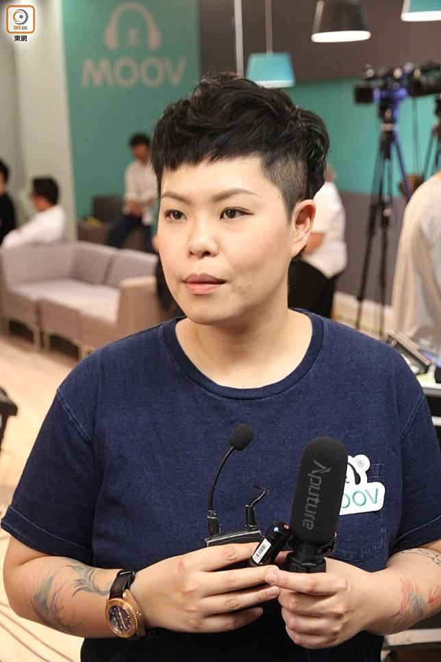 林二汶呢次同一班兒童合唱團合作。