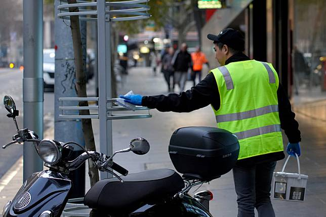 Australia S Victoria State Marks Week Of Triple Digit Coronavirus Cases Thejakartapost Com Line Today