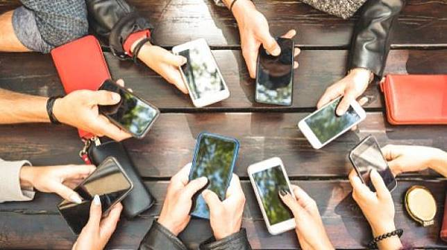 Ragam ponsel pintar (smartphone). (Shutterstock)