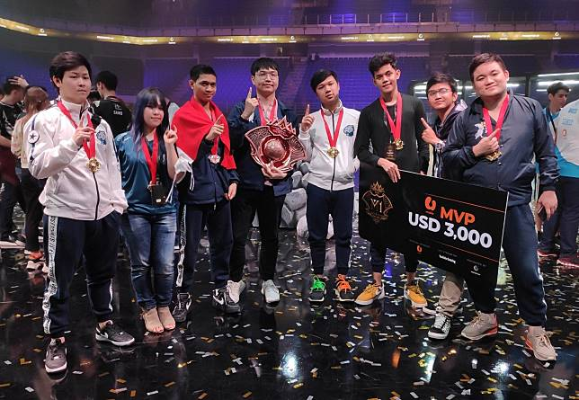 EVOS Legends juara 1 M1 World Championship 2019