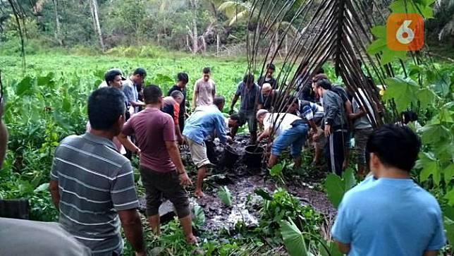 Hilang 5 Hari Mahasiswi Cantik Ditemukan Terkubur Di Sawah