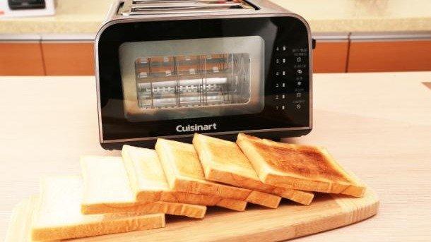 外酥內軟麵包好好吃 不用顧時間的美膳雅烤麵包機
