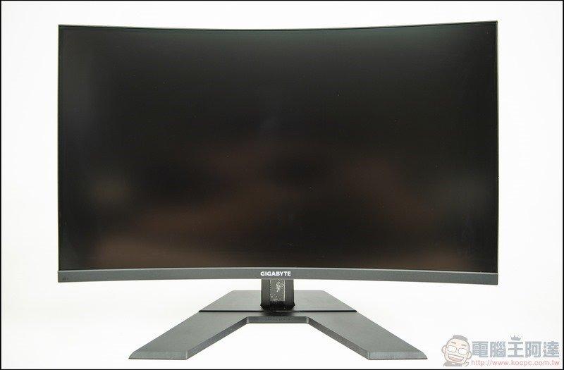 GIGABYTE G32QC 曲面電競螢幕開箱 - 19