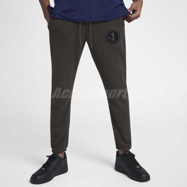 Nike 長褲 Sportwear AF1 Pant Fit 棕 黑 休閒運動褲 男款 Air Force 1 【PUMP306】 AJ0787-220