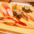 季節の握り盛り合わせ - 実際訪問したユーザーが直接撮影して投稿した新宿寿司すし三崎丸 新宿紀伊國屋ビルの写真のメニュー情報