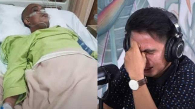 Sapri Pantun sempat curhat tak kuat lagi ke adiknya, Dolly sebelum masuk rumah sakit.