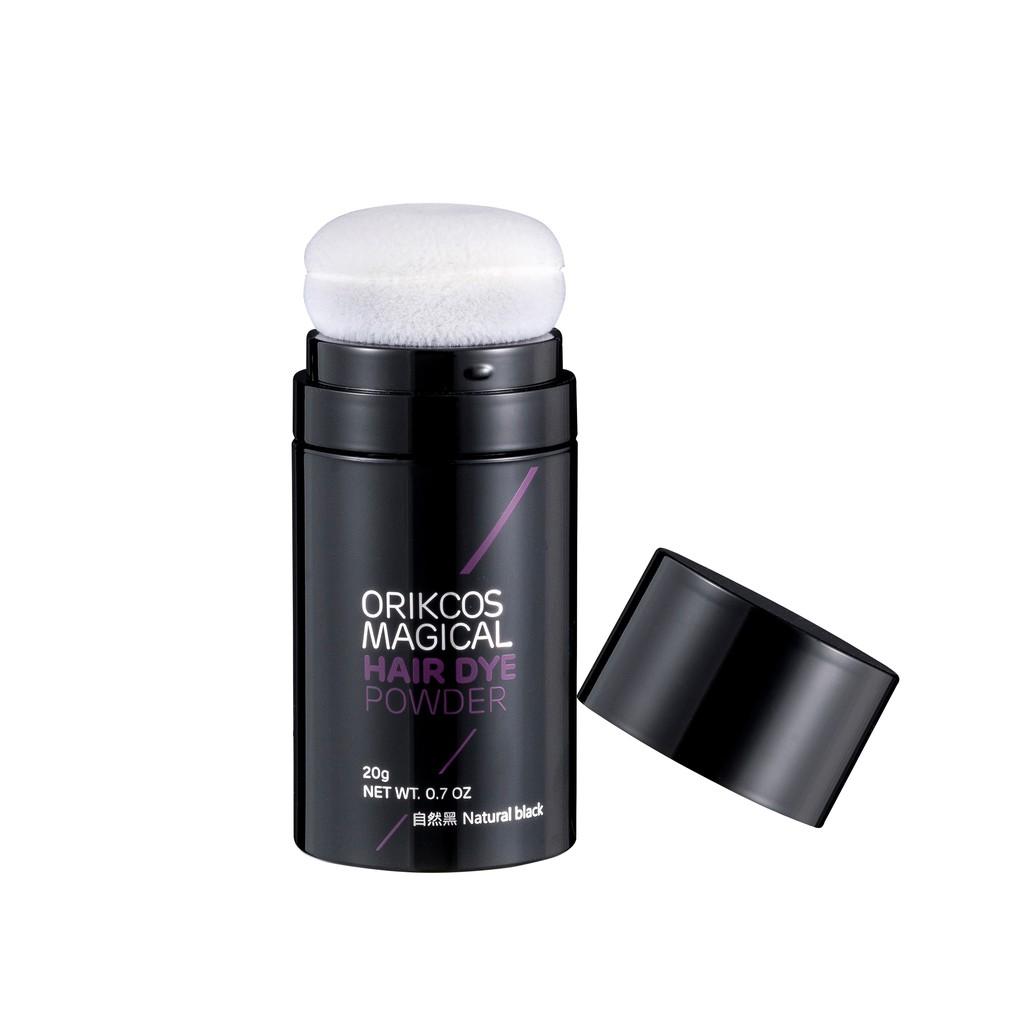 ORIKCOS即效遮瑕魔髮粉撲20g (自然黑)
