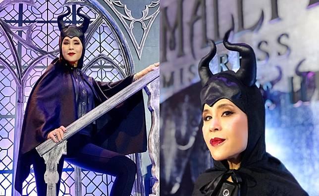 'ทูลกระหม่อมฯ' ทรงฉลองพระองค์ชุด 'Maleficent'