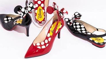 DIANA x 米妮 迪士尼鞋款超吸睛