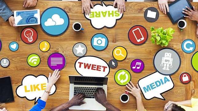 Ilustrasi Media Sosial (Medsos). [Shutterstock]