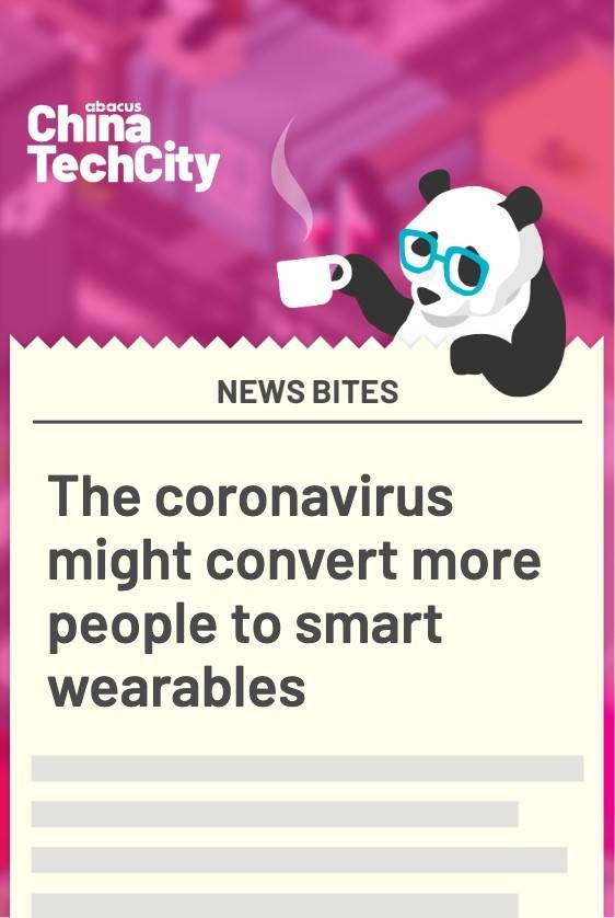 The coronavirus might convert more people to smart wearables