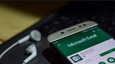 手機對紙本表格拍照、即可匯入到Excel試算表!微軟這個Excel更新功能超好用