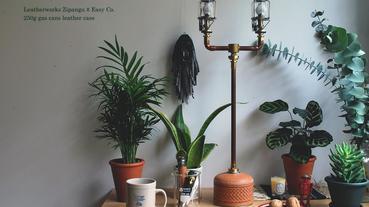壹人選物 – Leatherworks Zipangu x Easy Co. 瓦斯罐皮革專用罩