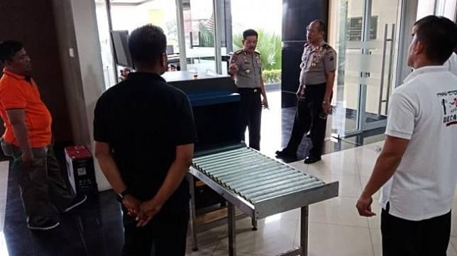 Pasca Bom Bunuh Diri di Medan, Mapolda Sumbar Pasang Alat Pendeteksi
