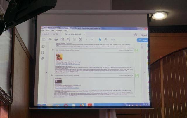 Pesan WA Ratna Sarumpaet ke Fadli Zon-Said Iqbal Dibongkar di Persidangan
