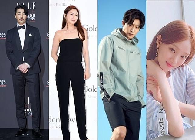 (左起)車勝元、崔智友、南柱赫與李成景等亦是YG旗下的演員。