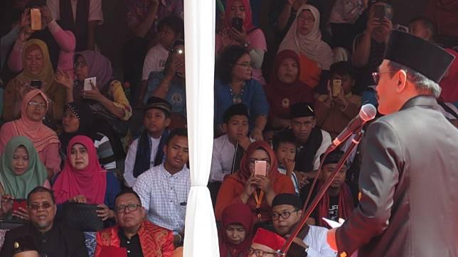 ™ Djarot Tegaskan Tolak Wacana Pemindahan Ibu Kota Di Depan Jokowi,