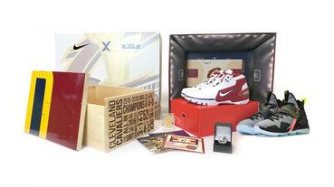 新聞分享 / StockX 推出 Nike LeBron 'Cavs Championship Court' 紀念套裝開放競標