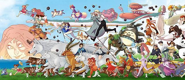 7 Anime Terbaik dari Studio Ghibli, Selevel Animasi Disney!