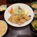 生姜焼き定食 - 実際訪問したユーザーが直接撮影して投稿した西新宿定食屋大かまど飯 寅福 ルミネ新宿店の写真のメニュー情報