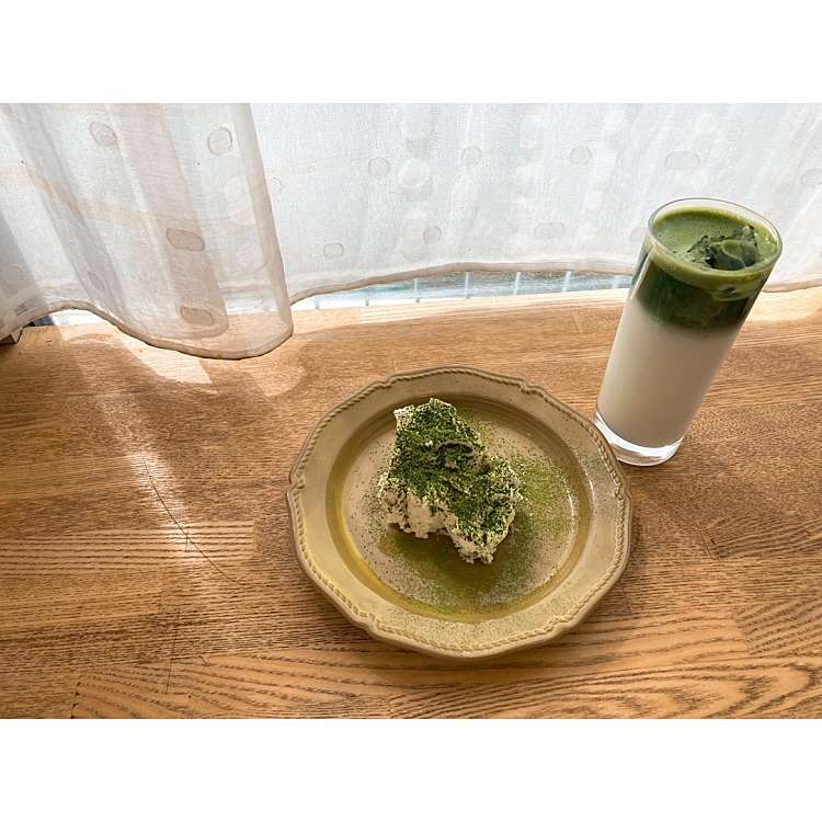 MOCHIKOさんが実際訪問した後作成した自由が丘コーヒー専門店パンとエスプレッソと自由形の口コミを含む「都内抹茶集。」に関する写真