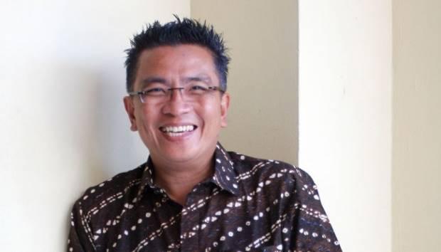 Presenter Helmi Yahya, diusung PDI Perjuangan sebagai calon bupati Ogan Ilir, Sumatera Selatan. Ini adalah untuk yang ketiga kalinya Helmy maju dalam pemilihan kepala daerah. Dok.TEMPO/ Ramdani