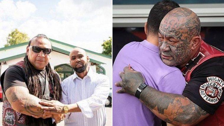 Gank Motor Selandia Baru Paling Menakutkan, Turut Jaga Pelaksanaan Ibadah Salah Jumat
