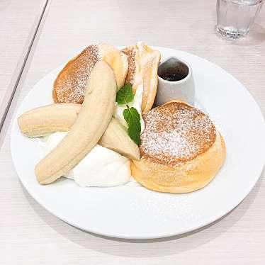 実際訪問したユーザーが直接撮影して投稿した新宿パンケーキ幸せのパンケーキ 新宿店の写真